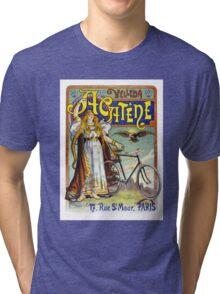 Acatène Velleda French Vintage Advertising Poster Tri-blend T-Shirt