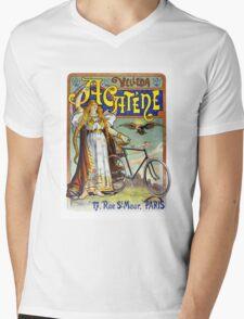 Acatène Velleda French Vintage Advertising Poster Mens V-Neck T-Shirt