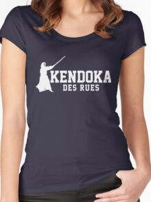 Kendoka des rue Women's Fitted Scoop T-Shirt