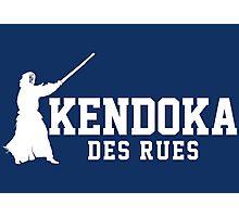 Kendoka des rue Photographic Print