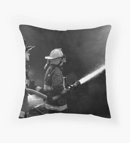 Exterior Operations Throw Pillow