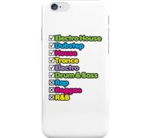 I Listen To: iPhone Case/Skin