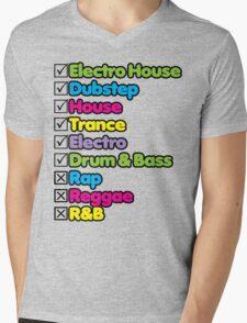 I Listen To: Mens V-Neck T-Shirt