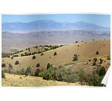Spring Valley & Kern Mountains Poster