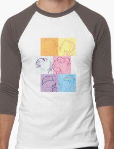 6 Main_squares 1 Men's Baseball ¾ T-Shirt