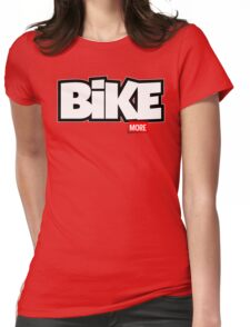 Bike More Womens Fitted T-Shirt