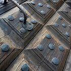 Door in Porvoo by Lucinda Walter