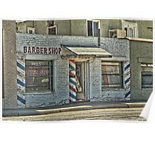 Coolidge, Az Barber Shop Poster