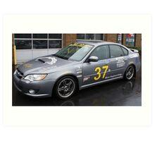 2008 Subaru Legacy GT - New England Rally 2011 Art Print