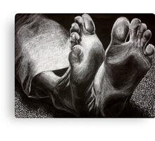 Cold Feet Canvas Print