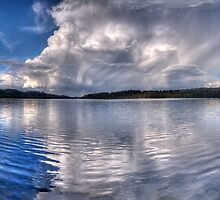 Wet Canvas #3 - Narrabeen Lakes, Sydney - The HDR Experience by Philip Johnson