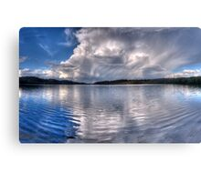 Wet Canvas #3 - Narrabeen Lakes, Sydney - The HDR Experience Canvas Print