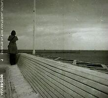 View on the sea of poland by Liliana Morawska