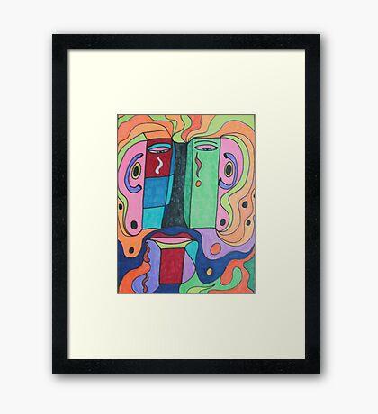 I'm Unhappy Framed Print