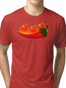 Chilli (fire) Tri-blend T-Shirt