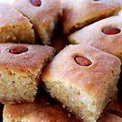 Almond Cake by Janie. D