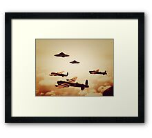 WWII What If Framed Print