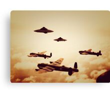 WWII What If Canvas Print