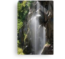 Flowing Water 1 Canvas Print