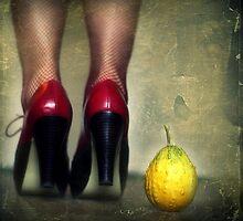 Red Shoes by Liliana Morawska