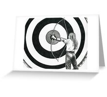 The Target Greeting Card
