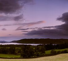 Windermere Moon by digitalnative