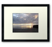 Sunset in Ballybunion, Kerry, Ireland Framed Print