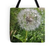 Do You See Weeds Or Wishes?  Tote Bag