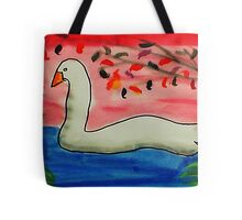 Almost time to move on,,, Bird series, watercolor Tote Bag