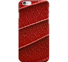 Nature in red iPhone Case/Skin