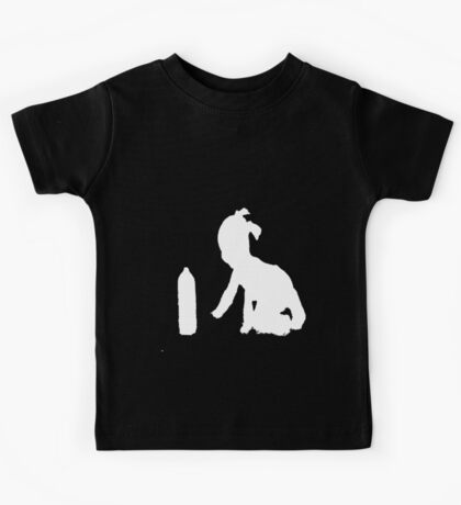 """Spray Can Girl "" Clothing Kids Tee"
