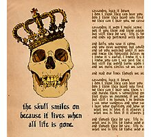 The Skull Lives On Photographic Print