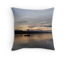 Evening Calm ,Burtonport Harbour, Donegal,Ireland Throw Pillow