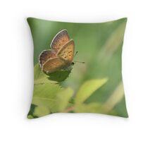 Precious Butterfly Throw Pillow