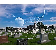 """"""" And the dead in Christ shall rise """" Photographic Print"""