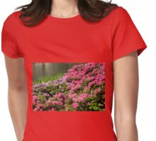Rhododendron named Azalea abloom Womens Fitted T-Shirt