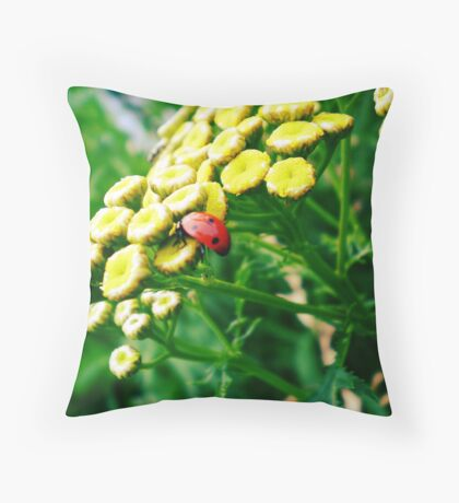 What a Small World Throw Pillow