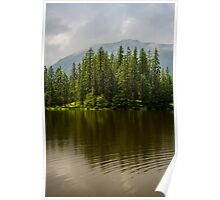 Sunny Mountain Pond Poster