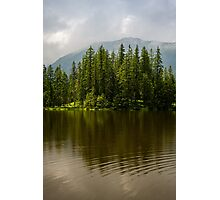 Sunny Mountain Pond Photographic Print