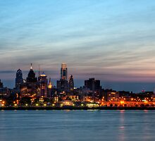 Philadelphia Skyline by Michael Mill