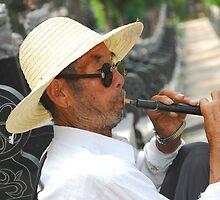 funeral bugler  by davvi