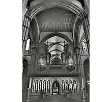 Rochester Cathedral's organ pipes  Photographic Print