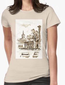 old town Womens Fitted T-Shirt