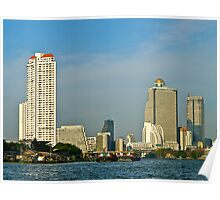 High Rise, Bangkok, Thailand. Poster