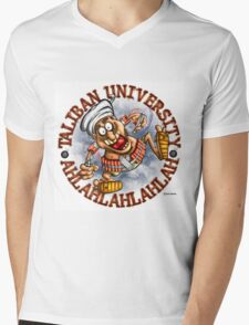 Taliban University  Mens V-Neck T-Shirt