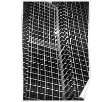 Glass and a half of full screen Window Poster