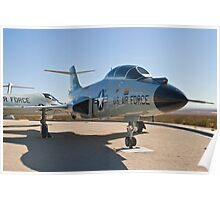#58-0288 F-101B Voodoo profile Poster
