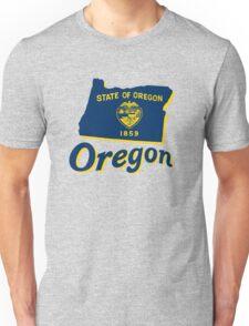 oregon state flag Unisex T-Shirt