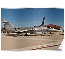 #56-0790 YF-104G Starfighter wide shot Poster