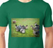 Cairina moschata brace quacking  Unisex T-Shirt